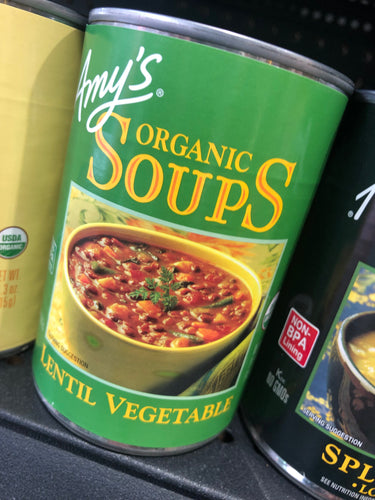 Amy's Organic Soups Lentil Vegetable