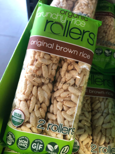 Organic Crunchy Rice Rollers