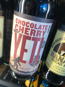 Great Divide Chocolate Cherry Yeti Imperial Stout 22 oz
