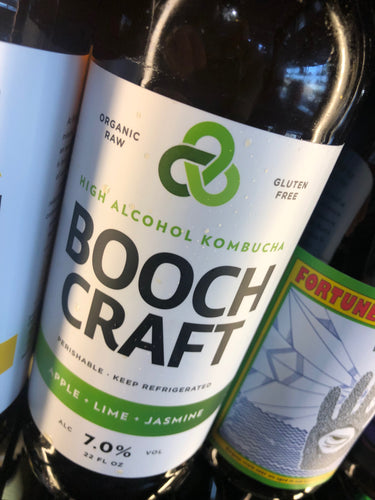 Boochcraft Apple Lime Jasmine 22 oz