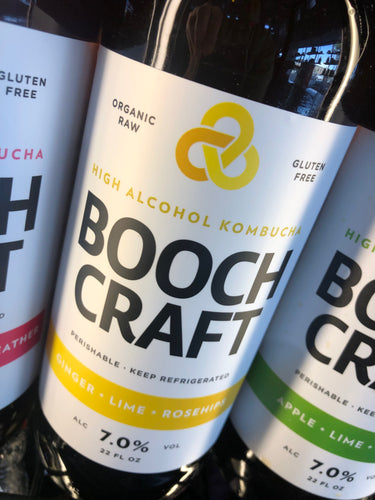 Boochcraft Ginger Lime Rosehips 22 oz