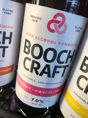 Boochcraft Grapefruit Hibiscus Heather 22 oz