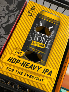 Stone GO TO IPA 16oz Cans 6 pk