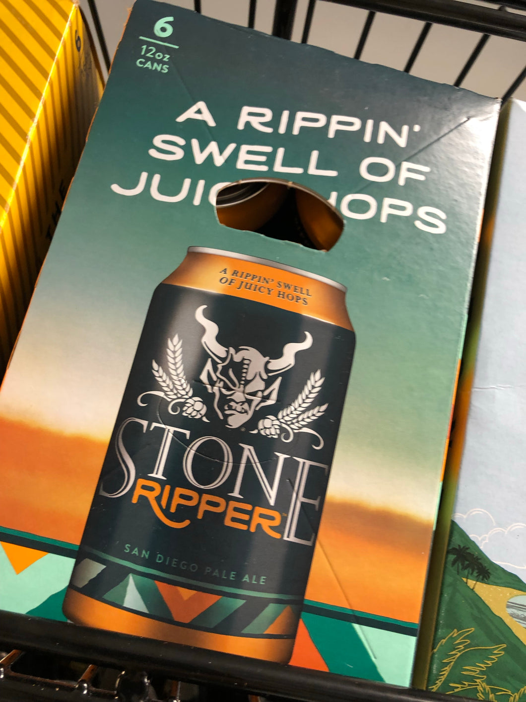 Stone The Ripper 12oz Cans 6 pk