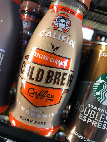 Califia Cold Brew Salted Caramel 10.5oz