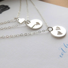 Load image into Gallery viewer, Three Generations necklace set, Grandmother, mother and daughter - RayK designs