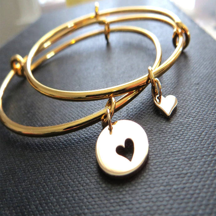 Mother daughter gold bangle set - RayK designs