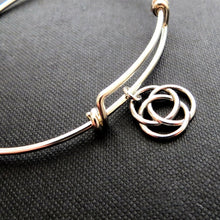 Load image into Gallery viewer, Infinite circle bangle bracelet - RayK designs