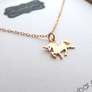 Unicorn necklace - RayK designs