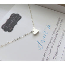 Load image into Gallery viewer, Sweet 16 heart necklace - RayK designs