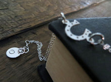 Load image into Gallery viewer, Personalized best friends Horseshoe initial bracelet - RayK designs