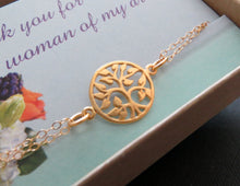 Load image into Gallery viewer, Gold tree of life bracelet - RayK designs