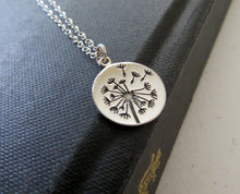 Load image into Gallery viewer, Mother two daughter sterling silver Dandelion necklace set - RayK designs