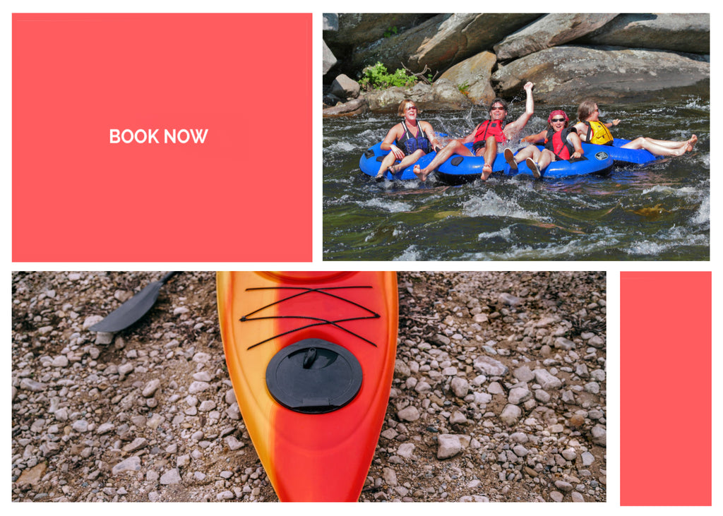 Tubing or Inflatable Kayak Rental, Upper Hudson River, NY