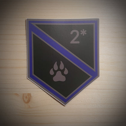 K9 Shield Sticker