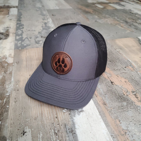 K9 Paw Leather Patch Hat