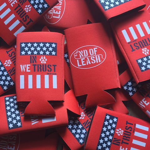 K9 We Trust Slim Koozie