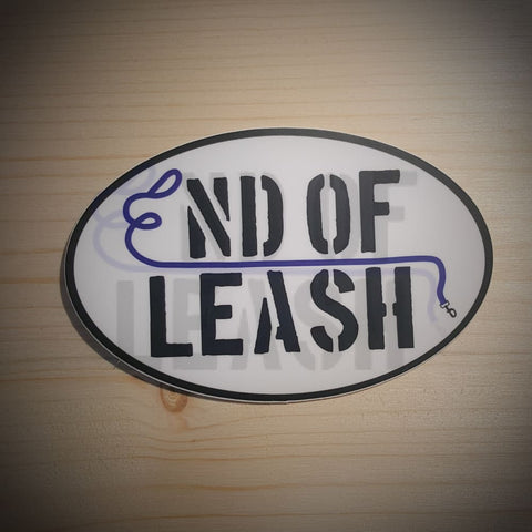 End Of Leash Logo Sticker