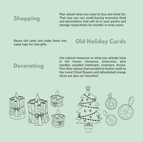 guide to shopping and celebrating zero waste