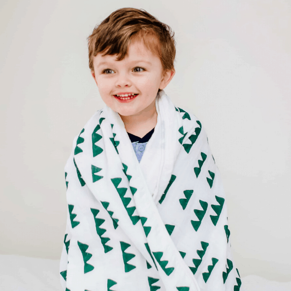 Toddler Muslin Blanket - Mountain
