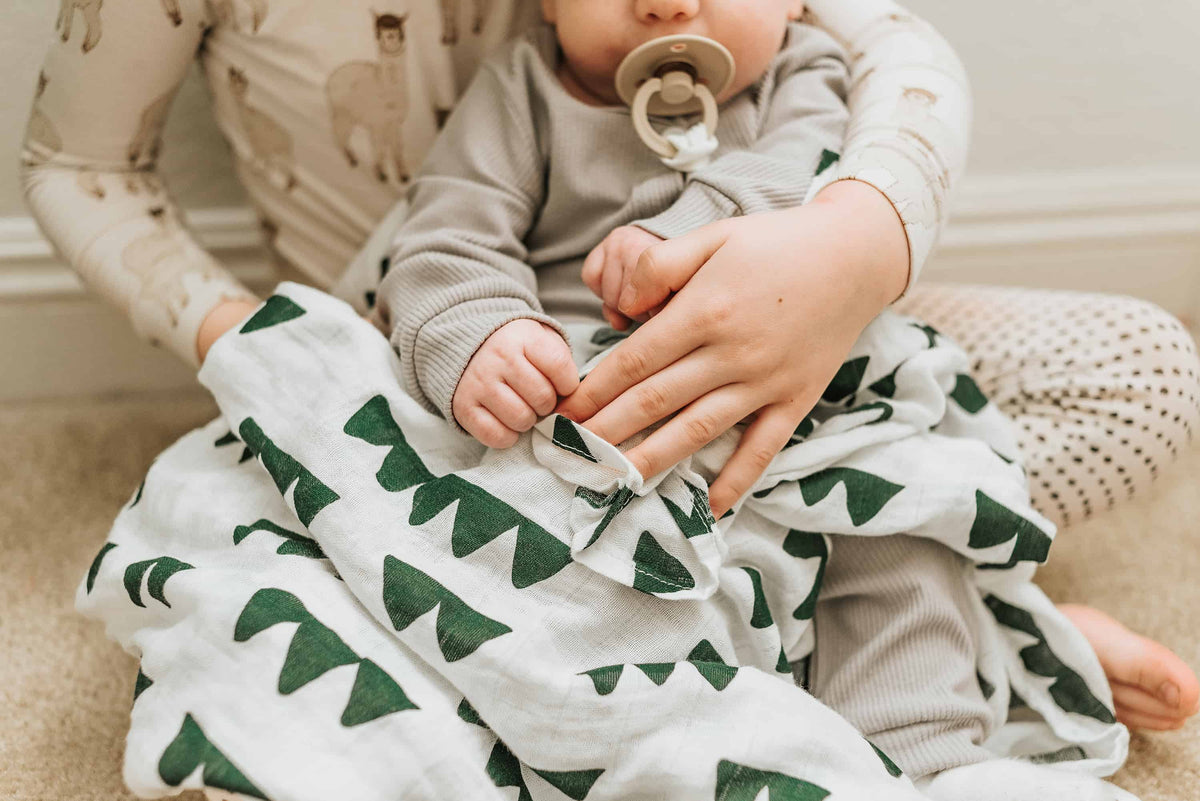Muslin Swaddle Blankets - Pack of 2
