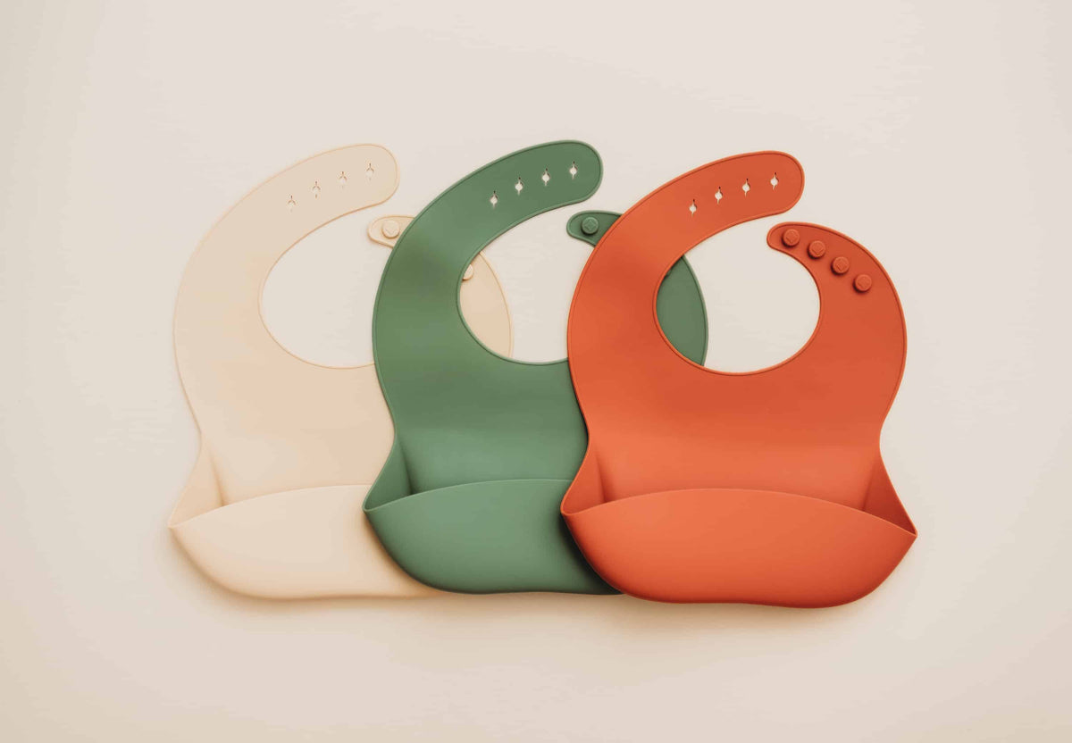 Platinum Silicone Bibs Pack of 2