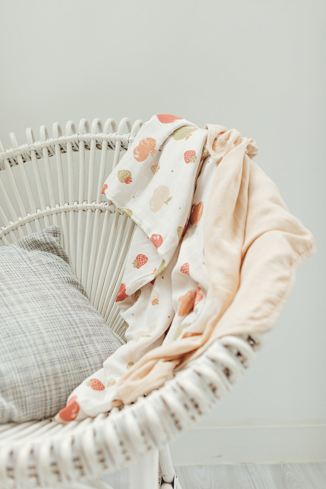 Toddler Muslin Blanket - Fruits