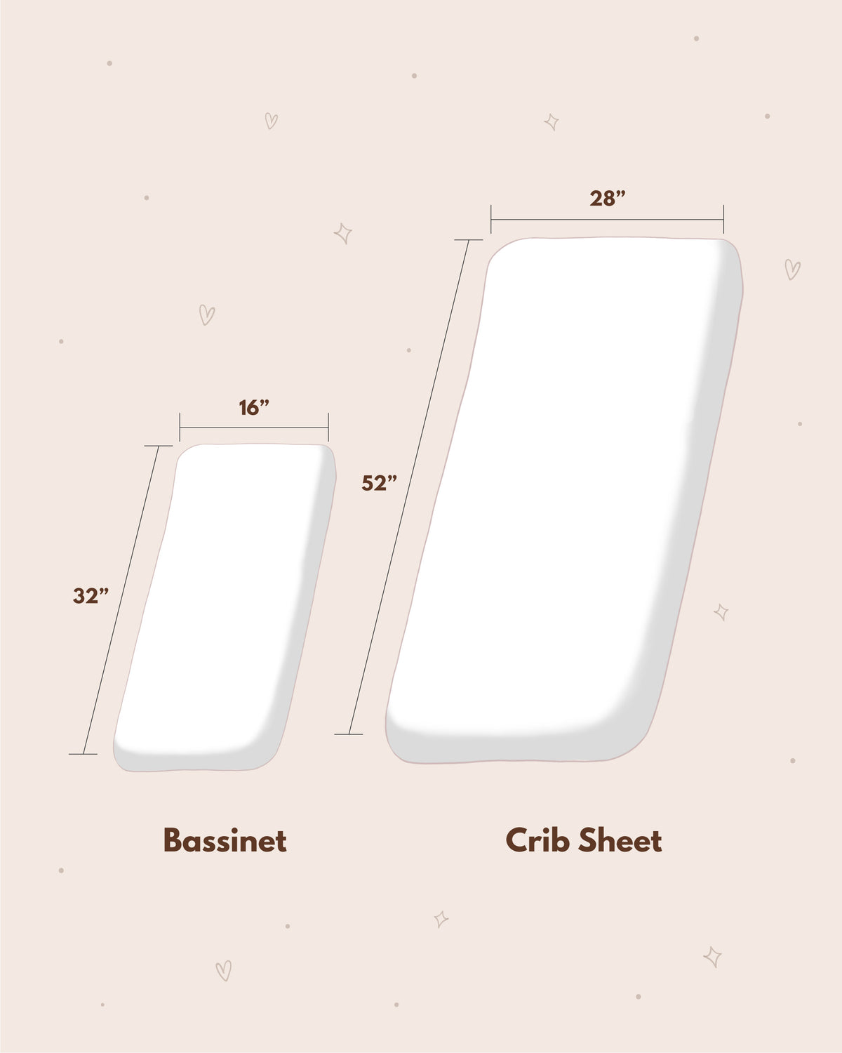 Fitted Crib Sheet - Off White