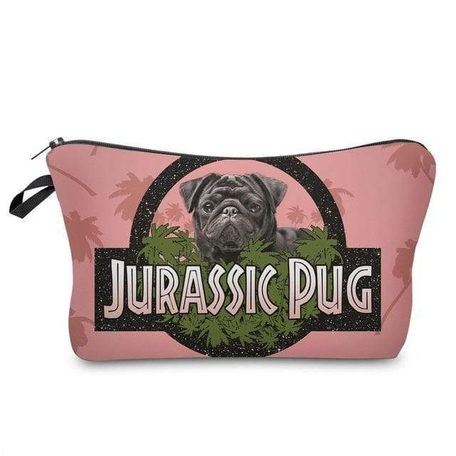 Cosmetic Pouch - Pug series