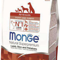 MONGE NATURAL PUPPY LAMB, RICE  & POTATOE