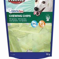 TRIXIE DENTAFUN Chewing Chips s spirulino 50 g