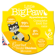 LITTLE BIG PAW mousse piščanec 85 g