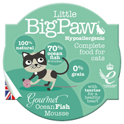 LITTLE BIG PAW mousse morske ribe 85 g