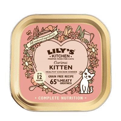 LILY'S KITCHEN Curious Kitten 85 g