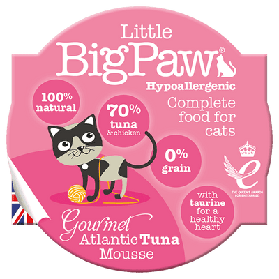 LITTLE BIG PAW mousse tuna 85 g