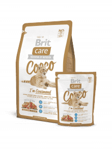 BRIT CARE COCCO I`AM GOURMAND-raca&losos brez žit