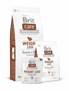 BRIT CARE WEIGHT LOSS- zajec & riž