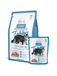 BRIT CARE TOBBY I`AM ABIG CAT- raca&piščanec brez žitaric