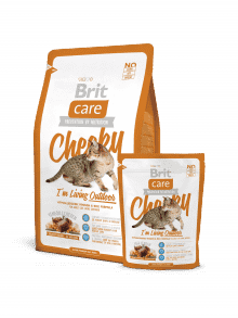 BRIT CARE CHEEKY I`M LIVING OUTDOOR-za zunanje mačke divjačina&riž
