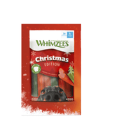 WHIMZEES CHRISTMAS EDITION zobne žvečilke S mix 420g