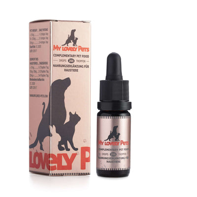 MY LOVELY PETS KONOPLJINE KAPLJICE 2% 10ml