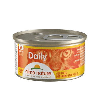 ALMO NATURE DAILY Mousse piščanec 85 g