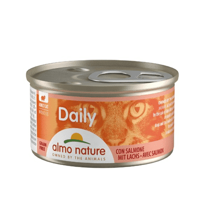 ALMO NATURE DAILY Mousse losos 85 g