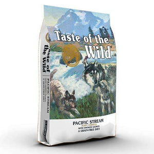 Taste of the Wild PACIFIC STREAM PUPPY- prekajeni losos
