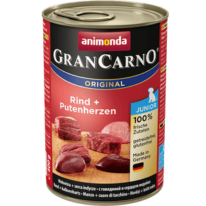 ANIMONDA GRAN CARNO JUNIOR govedina&puranja srca 400g