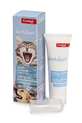 DENTALPET zobna pasta za pse in mačke 50 ml
