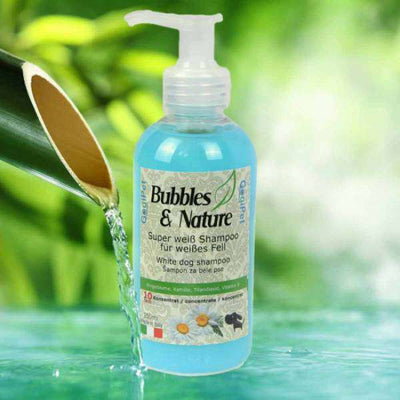 BUBBLES&NATURE šampon za bele pse 250ml