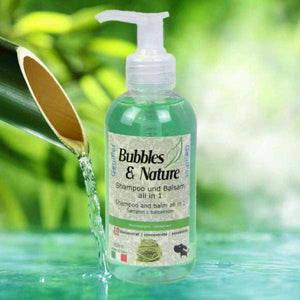 BUBBLES&NATURE šampon z balzamom 250ml