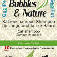 BUBBLES&NATURE šampon za mačke 250ml