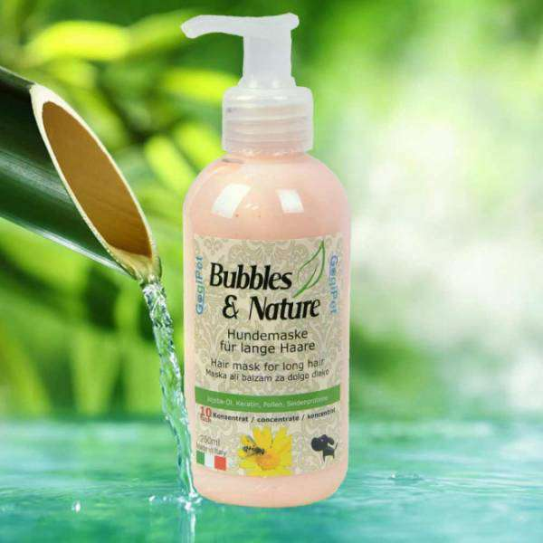 BUBBLES&NATURE balzam za dolgo dlako 250ml